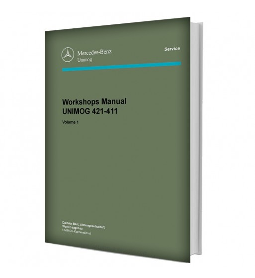 Mercedes Benz Service Manual Chassis & Body Series 123 | Volume 2