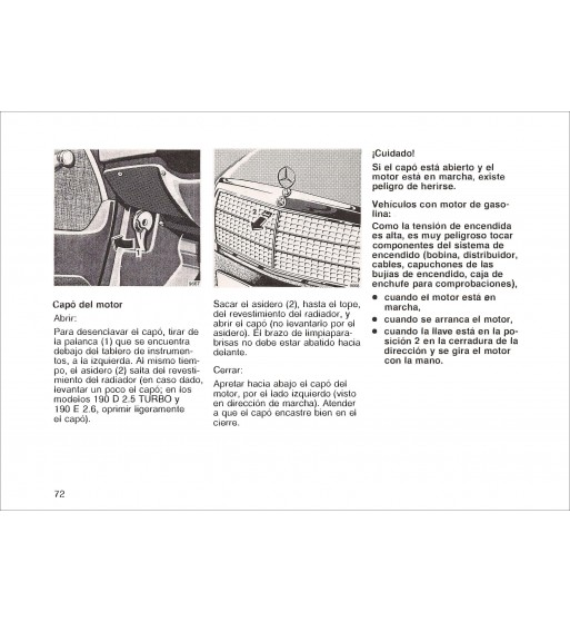 Mercedes Benz Service Manual Chassis & Body Model 107 | Volume 2