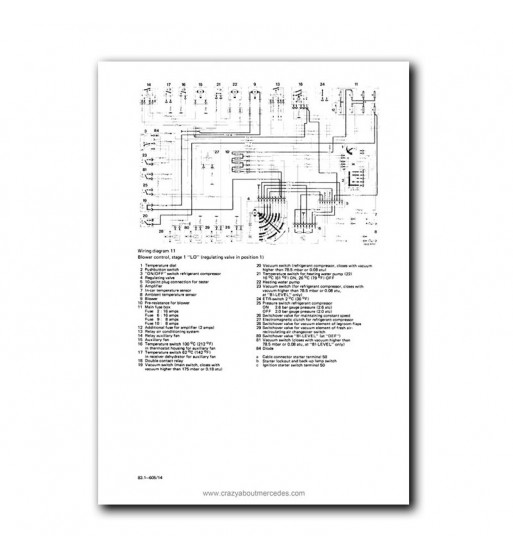 Mercedes Benz 380 SL Manual | Instrucciones de Servicio | W107