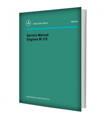 Mercedes Benz Service Manual V-8 Engines M 116 (3.5), M 117 (4.5)