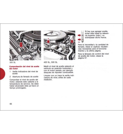 Mercedes Benz 280 SE Manual   Instrucciones de Servicio   W116