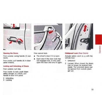 Manual Mercedes Benz SL 600 | SL Operator's Manual | R129