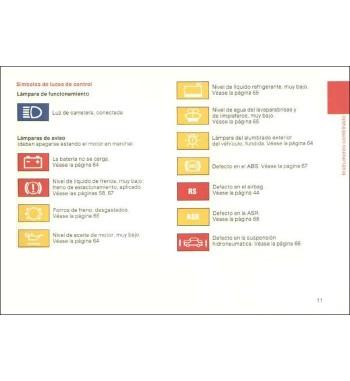 Manual Mercedes Benz ML 350 | Instrucciones de Servicio Clase M | W163