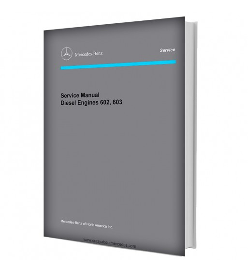 Mercedes Benz Service Manual Diesel Engines 602, 603