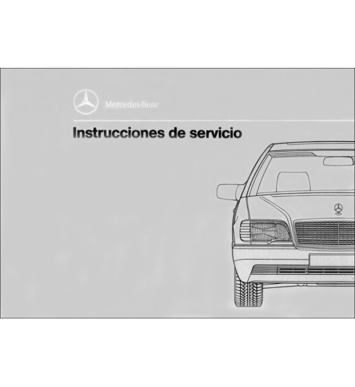 Manual Mercedes Benz A 150   Instrucciones de Servicio Clase A   W169