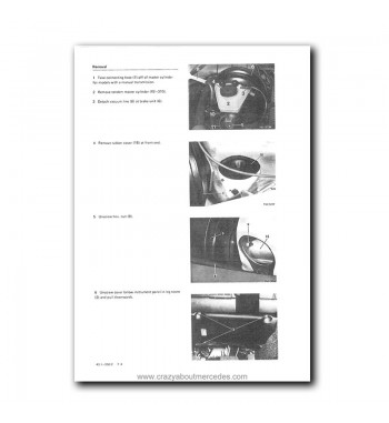 Mercedes benz manuals e class w123 series crazy about for Mercedes benz service promotional code
