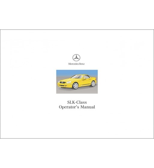 Mercedes Benz C 230 Kompressor Sportcoupé Manual | C-Class Sportcoupé Operator's Manual | W203