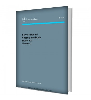 Mercedes Benz Model 126 Service Manual Library | Disc 1