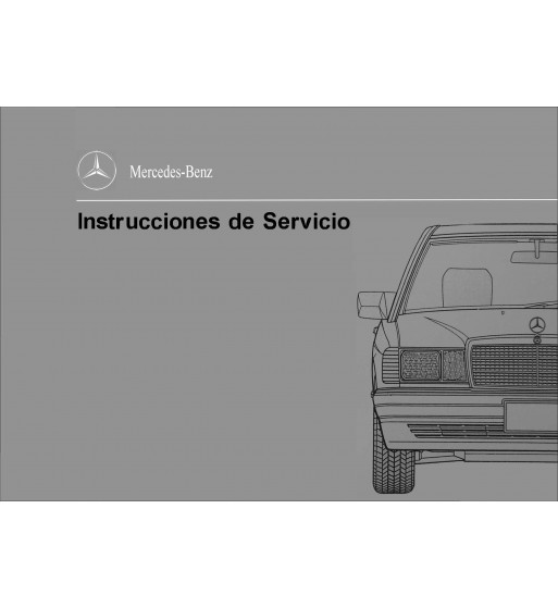 Manual Mercedes Benz E 320 | Instrucciones de Servicio Clase E | W210