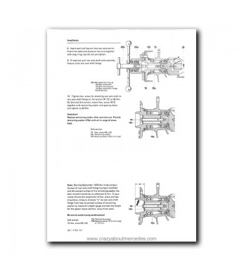 Mercedes Benz Star Classic Service Manual Library | Volume 1