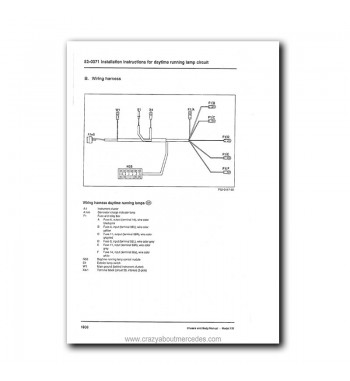 Mercedes Benz Service Manual Chassis & Body Series 126