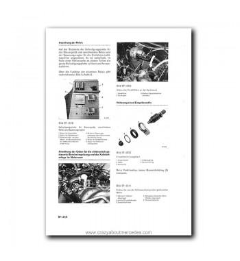 Mercedes Benz Benz Werkstatt-Handbuch PKW-Typen ab 1968 Baureihe 108-113 Wartung, Einstellung und Montage Band 1