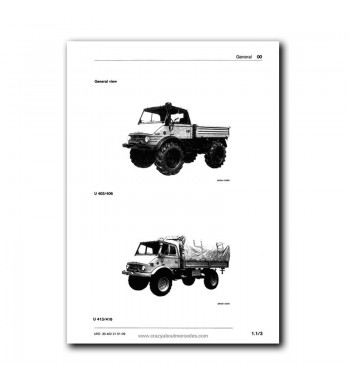 Mercedes Benz Workshop Manual UNIMOG 403, 406, 413, 416 | Volume 1