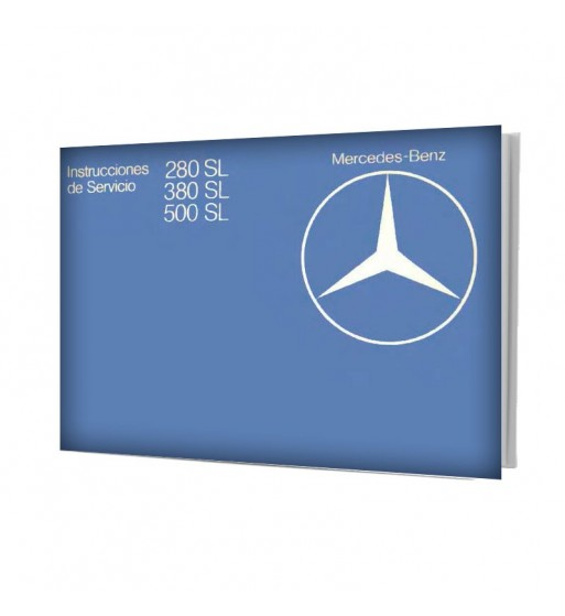 Mercedes Benz 280 SL Manual | Instrucciones de Servicio| W107