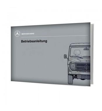 Manual Mercedes Benz 240 GD | Betriebsanleitung | W460