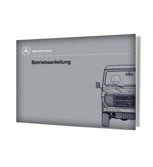 Manual Mercedes Benz 300 GD | Betriebsanleitung | W460