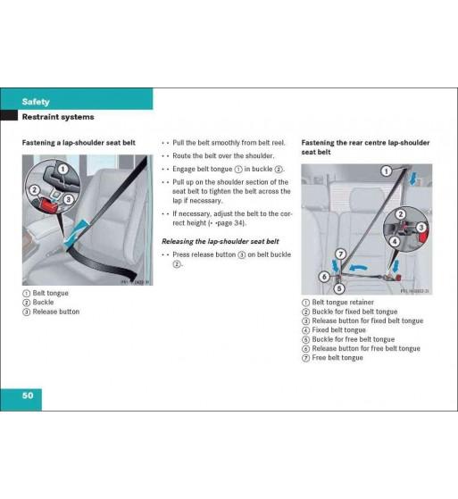 Manual Mercedes Benz C 230 4MATIC Sport | Operator's Manual C-Class | W204