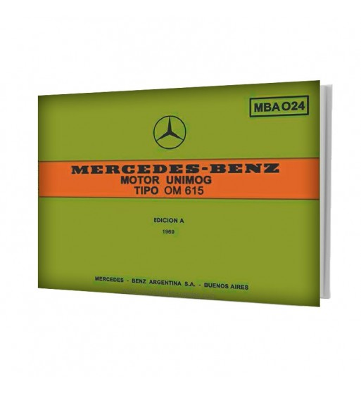 Manual Mercedes Benz UNIMOG | Motor UNIMOG Tipo OM 615 | Partes