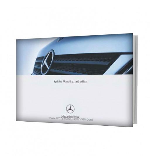 Mercedes Benz Sprinter Operating Instructions W901