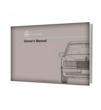 Mercedes Benz E-Class Owner's Manual W124