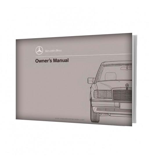 Mercedes Benz E-Class Owner's Manual W124