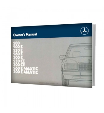 Mercedes Benz Owner's Manual W124