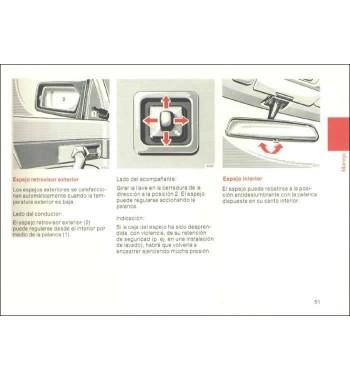 Manual Mercedes Benz Instrucciones de Servicio W126