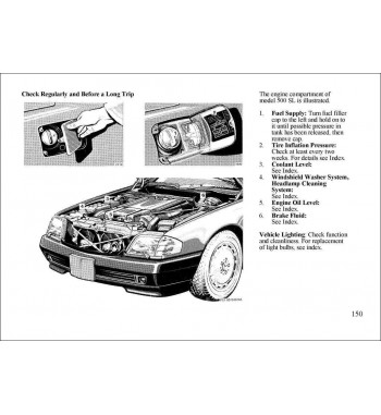 Mercedes Benz SL Owner's Manual R129