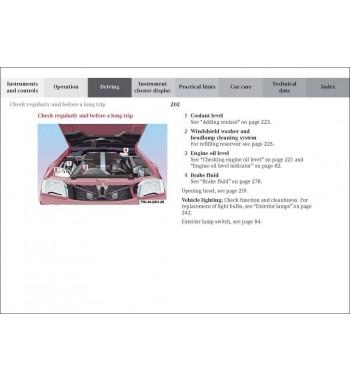 Mercedes Benz SL Operator's Manual R129
