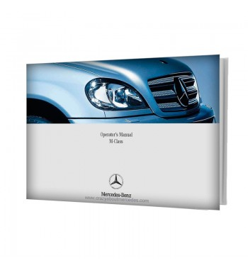 Mercedes Benz  Operator's Manual M-Class W163