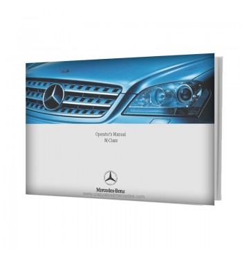 Mercedes Benz Operator's Manual M-Class W164