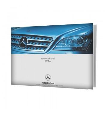 Mercedes Benz Operator's Manual M-Class W164