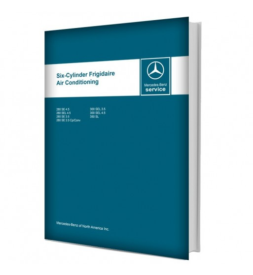 Mercedes Benz Six-Cylinder Frigidaire Air Conditioning