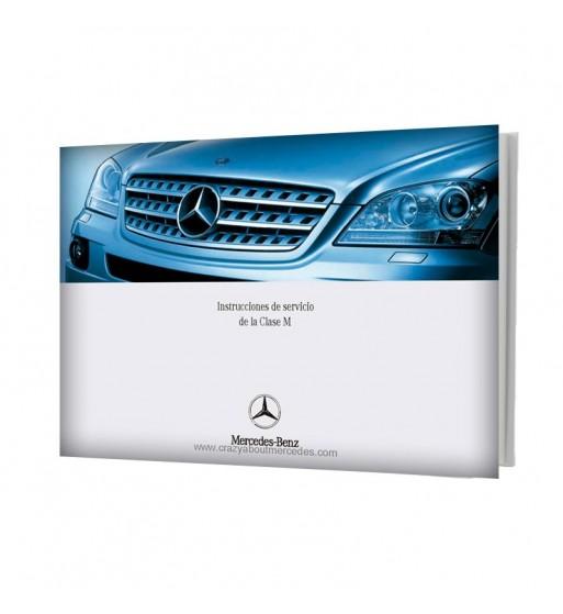 Manual Mercedes Benz Instrucciones de Servicio de la Clase M W164