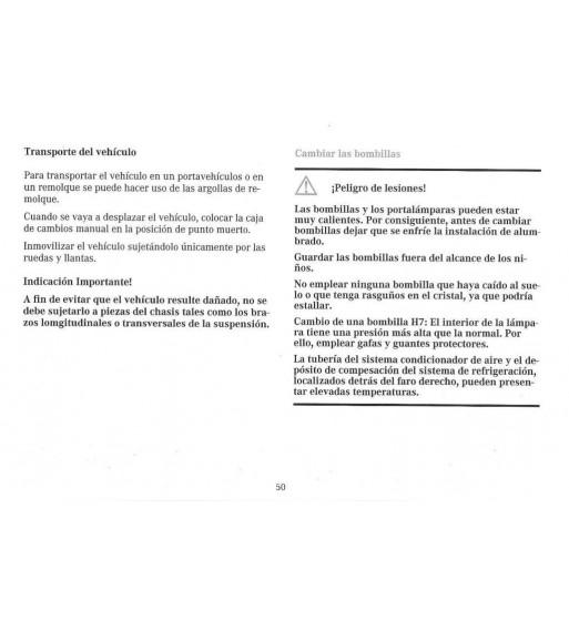 Mercedes Benz Service Manual V 8 Engine M 116.96 (3.8) & M 117.96 (5.0)