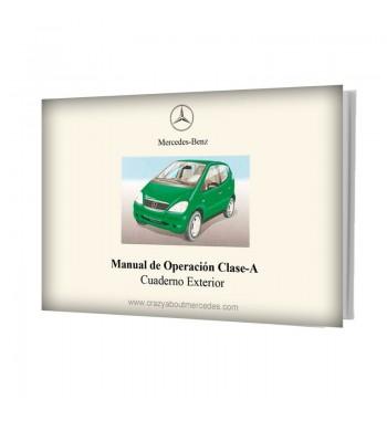 Mercedes Benz Manual de Operación Clase A W168