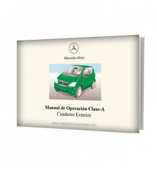 Mercedes Benz Manual de Operación Clase A W168