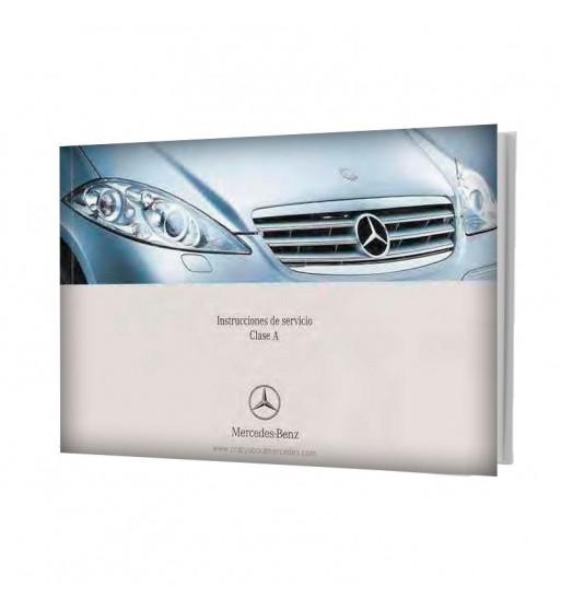 Mercedes Benz Manual Instrucciones de Servicio Clase A W169