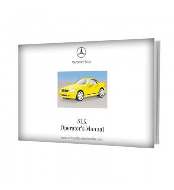 Mercedes Benz SLK Operator's Manual W170