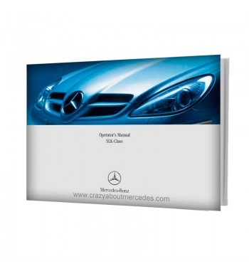 Mercedes Benz Operator's Manual SLK-Class W171