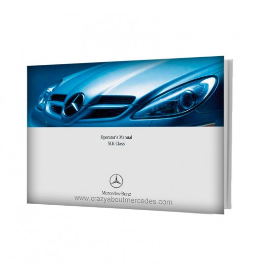 Mercedes Benz Operator's Manual SLK-Class W171