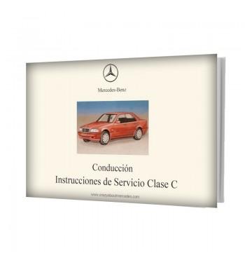 Manual Mercedes Benz Instrucciones de Servicio Clase C W202