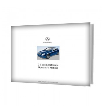 Mercedes Benz C-Class Sportcoupé Operator's Manual W203