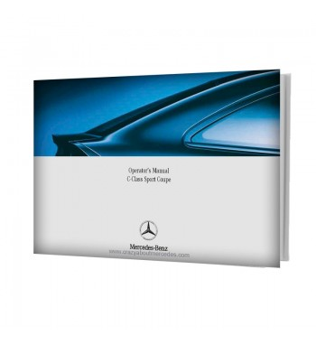 Mercedes Benz Operator's Manual C-Class Sport Coupe W203