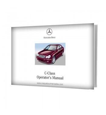 Mercedes Benz C-Class Operator's Manual W203