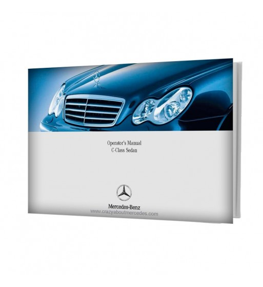 Mercedes Benz Operator's Manual C-Class Sedan W203