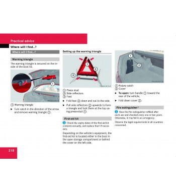Mercedes Benz Owner's Manual C-Class W204
