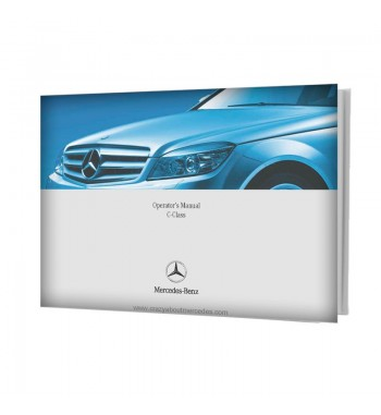 Mercedes Benz Operator's Manual C-Class Sedan W204
