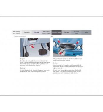 Mercedes Benz CLK Coupé Operator's Manual W208
