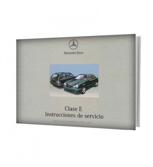 Mercedes Benz Clase E Manual Instrucciones de Servicio W210